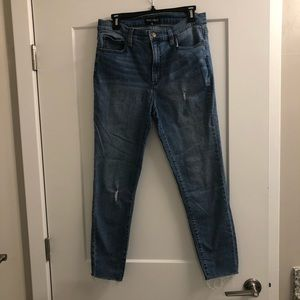J. Crew Mercantile Distressed Jeans